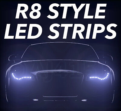 R8 Style LED Side lights Mitsubishi Challenger + Galant
