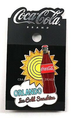NEW Disney Springs Coca-Cola Coke Store Orlando 2016 Collectible Pin