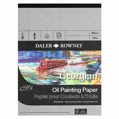 "Daler Rowney Georgian Oil Painting Pad - 20"" x 16"""