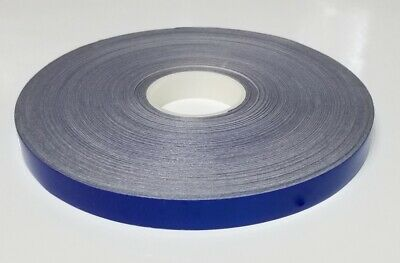 """1/4"""" x 150 ft Blue Reflective Pinstriping Safety Tape"""
