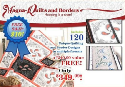 Magna-Quilts & Borders Embroidery Bernina Artista 830