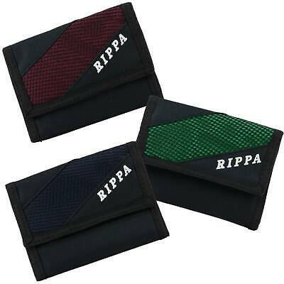 NEW Mens Boys TriFold Canvas SPORTS WALLET by RIPPA Classic Handy