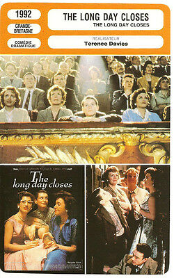 Fiche Cinema - The Long Day Closes - Terence Davies