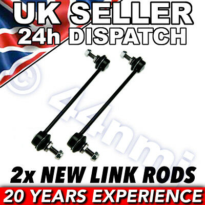 BMW E46 1998-04 FRONT ANTI ROLL BAR DROP LINK RODS x 2