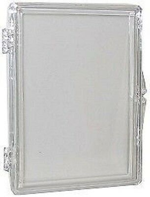 (10 Box Lot) Ultra Pro 15-Card Hinged Plastic Boxes Holders For Trading Cards