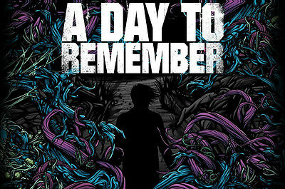 A DAY TO REMEMBER HOMESICK Photo Poster Print Wall Art Large