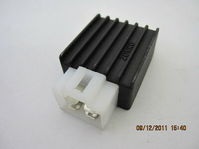 NEW VOLTAGE REGULATOR RECTIFIER FIT 50cc CHINESE SCOOTER MOPED - P/N: EL005