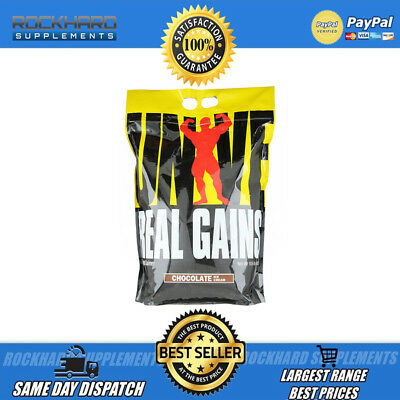 Universal Nutrition-Real Gains Bulk Bag Mass-Whey Protein-WPC