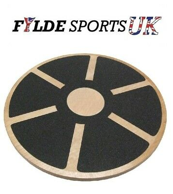 Balance Fitness Rehabilitation Wobble Board - Wooden - Good Quality - FREE P&P!