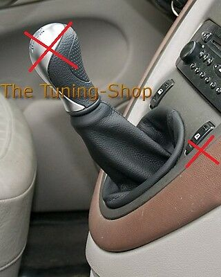 Fits Citroen Xsara Picasso Leather Gear Stick Gaiter Shift Boot
