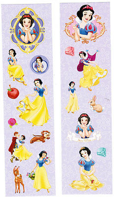 DISNEY SNOW WHITE PRINCESS 2 Sheets Scrapbook Stickers Prince Charming