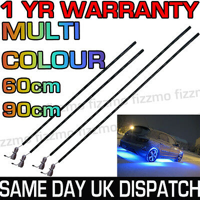 LED UnderCar Under Car Lighting Light Neon Remote Multi Colour RGB 60cm 90cm