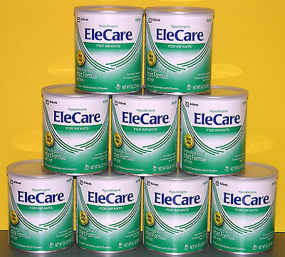 9 - 14.1oz cans EleCare for Infants with DHA/ARA Formula - NEW