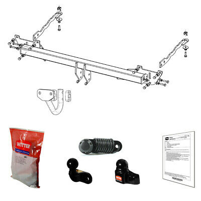 Witter Towbar for Fiat Doblo Van / MPV 2010-2019 - Flange Tow Bar