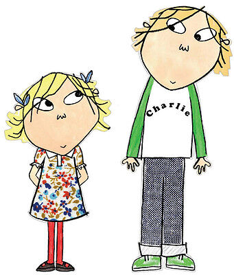 CHARLIE AND LOLA Photo Poster Print Wall Art A2, A3, A4