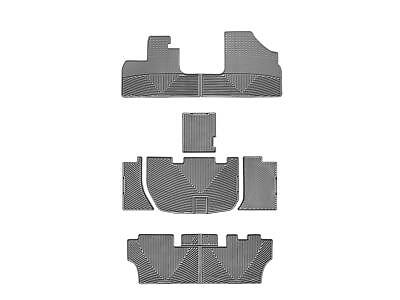 WeatherTech All-Weather Floor Mats for Honda Odyssey 2005-2010 1st 2nd 3rd Grey