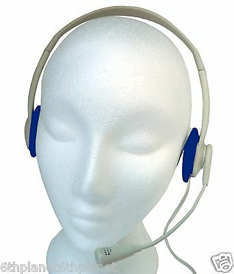 Light weight Typhoon Multimedia / Skype Headset  with Boom Microphone
