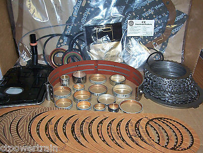 2004R Super Master Rebuild Kit With Steels Band Bushing Kit Filter 200-4R 200R4