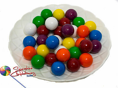 GUMBALL LOLLIES  -  23MM  -  1KG  -  Large Gumballs