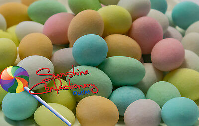 SUGARED ALMONDS LOLLIES  -  (Mixed)  -  1KG  -  BONBONNIERE