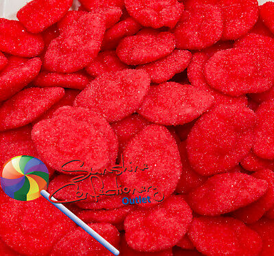 5 x 150g  -  Strawberry Clouds  -  CHUNKY  -  SOUR LOLLIES, Party Sweets