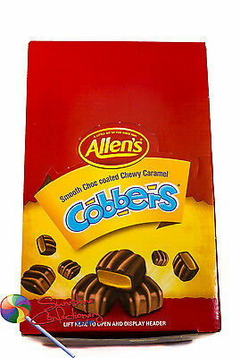 Allen's - Cobbers Chocolate Caramel Lollies - 1.8kg Allens Sweets, Treats