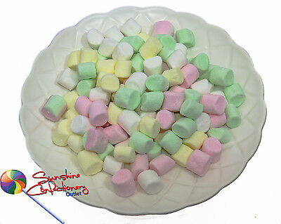 Mini Multicoloured Marshmallows -  3 X 200G - LOLLY BUFFET