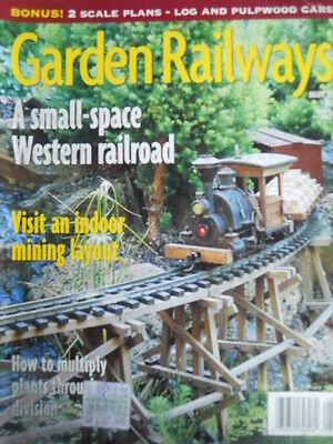 Garden Railways 8 1999 A small-space Western