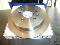 PAIR RDA REAR BRAKE ROTORS SUIT VR  VS COMMODORE With  IRS . NEW RDA36