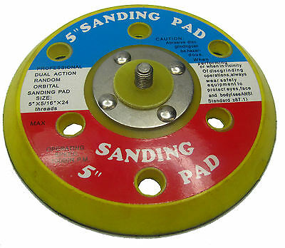 "Rdgtools 125 Mm 5"" Sticky Sanding Pad / Da Air Sander"