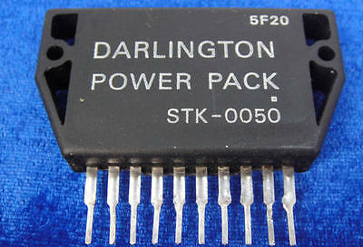 1PCS SANYO STK-0050 OUTPUT STAGE OF POWER AMPLIFIER NEW  m