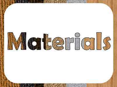 KS1 Y2 SCIENCE - MATERIALS DISPLAY Resources - Heading Posters Lettering etc - £3.50 | PicClick UK