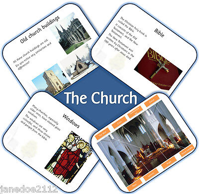 KS1 RE topic PLACES OF WORSHIP VISITING A CHURCH Primary IWB Teaching ...