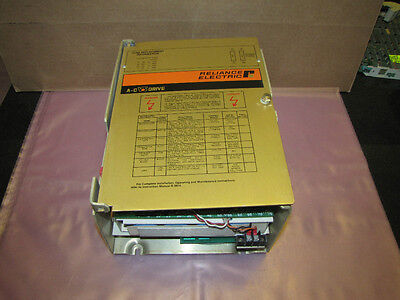 RELIANCE ELECTRIC AC V/S DRIVE 42C100 2.1 kVA 1HP 1 HP 5000AMPS 5000A 5000 A