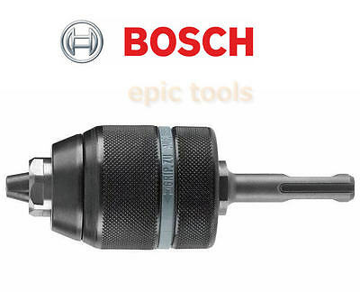 "BOSCH Rohm German Made 1/2"" Keyless Chuck With SDS + Plus Adapter, 1.5mm -13mm"