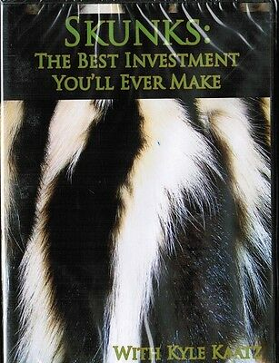 DVD-Kaatz-SKUNKS-THE BEST INVESTMENT YOU'LL EVER MAKE, Traps Trapping
