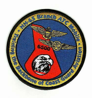 Uscg Patch - Hh-65 Branch Atc Mobile Training The Backbone Of Cg Aviation