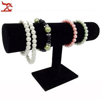 Jewelry Display T Bar Chain Watch Bracelet Stand Rack Necklace Display Holder