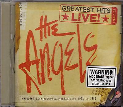 The Angels - Greatest Hits Live - Cd - New -