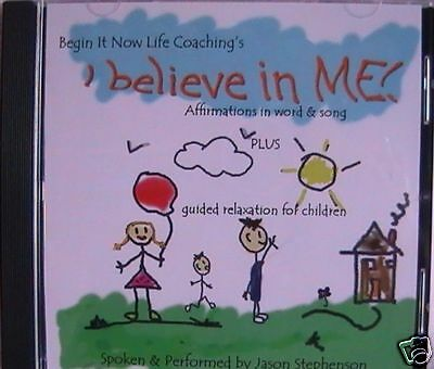 A CD for KIDS - GUIDED RELAXATION AND AFFIRMATIONS for positive change