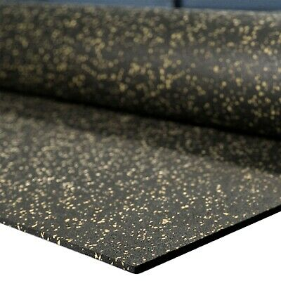 IncStores Rubber Mats 4ft x10ft High Quality Home Gym Flooring & Equipment Mats