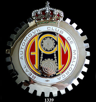 CAR GRILLE EMBLEM BADGES - MALLACAR AUTO CLUB