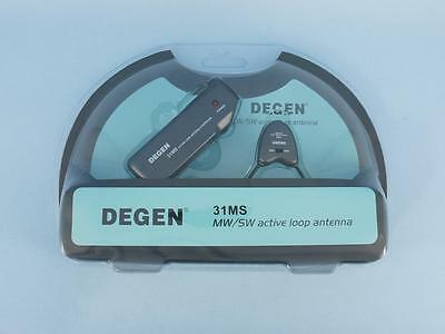 DEGEN 31MS Indoor MW SW Active Loop Magnetic Portable Antenna