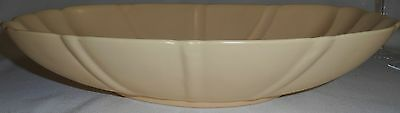 Bauer Artware LIGHT YELLOW COLOR Console Bowl LOS ANGELES