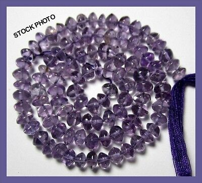 Fabulous Aa+ 4.5-5.5Mm Amethyst Eye Clean Smooth Button Beads