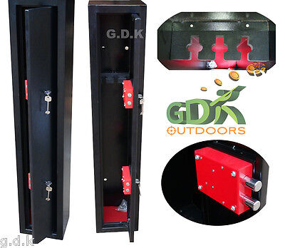 Gdk, 3 Gun Cabinet, Shotgun, Rifle Cabinet, Safe,bs7558/92, Police Approved Zc3G
