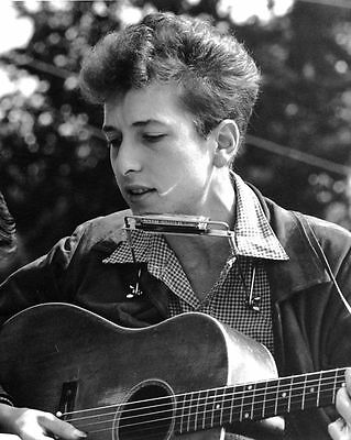 Bob Dylan Rock Music Glossy 8X10 Concert Photo