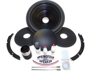 Complete Alpine SWR-1242D Recone Kit - Dual 4 Ohm - Incl Adhesives