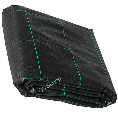 3M x 10M HEAVY DUTY Weed Control/Stop Fabric Membrane Garden Ground Cover Sheet