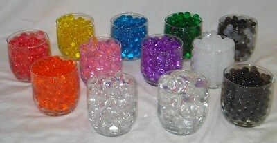 10 packs of LIQUID WATER GEL MARBLES- aqua gems FREE SHIPPING USA--(10) 14g EACH